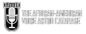 The African-American Voice Actors Database